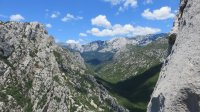 ..Blick in den Nationalpark Paklenica..
